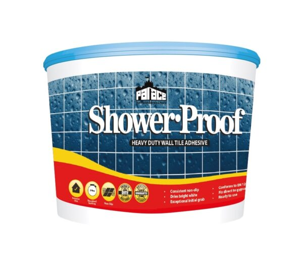 Shower-Proof Wall Tile Adhesive 15L Pallet of 56