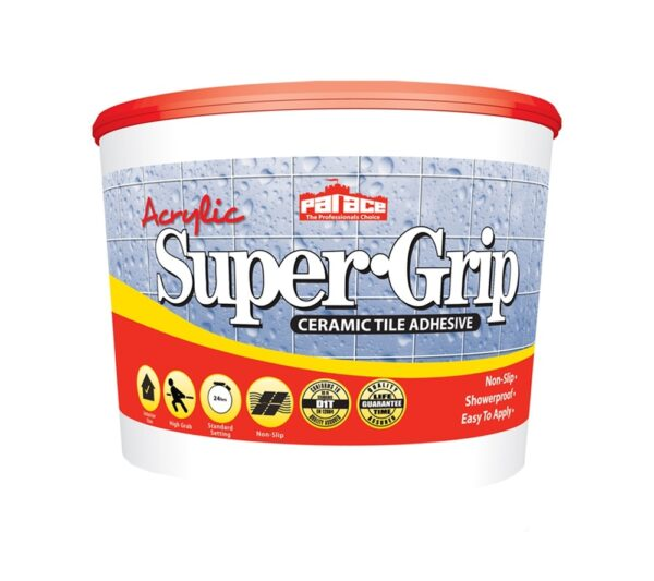Super-Grip Wall Tile Adhesive 15kg Pallet of 56