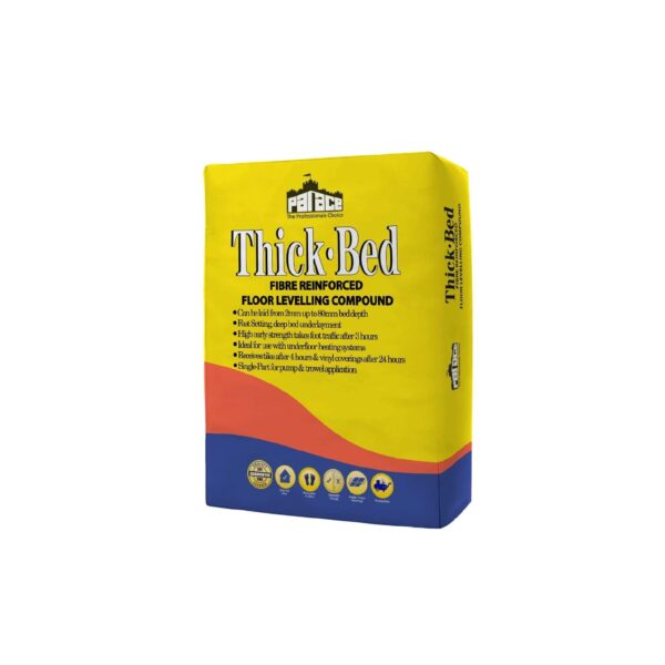 Thick-Bed Floor Levelling Compound 20kg Pallet of 54